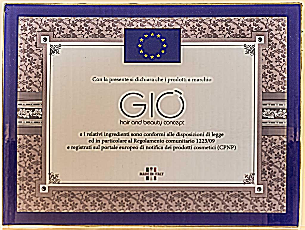 Certificazione prodotti