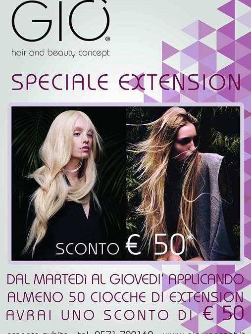 SPECIALE EXTENSION , SCONTO DI 50€